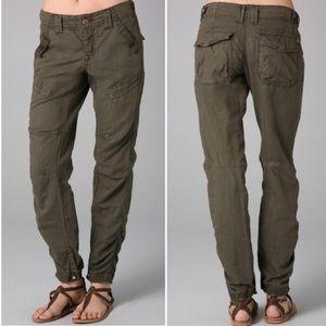 FREE PEOPLE Benji's Utility Pants Size 8